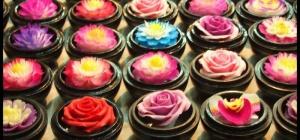 Как вырезать цветок из мыла