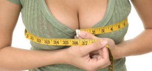 Как определить размер груди визуально