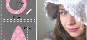 Как сшить летнюю шляпу
