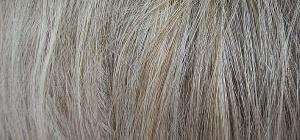 Как предотвратить седение волос