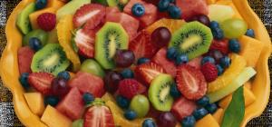 Как сделать корзину из фруктов