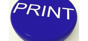 Как напечатать страницу с интернета