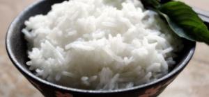 Как готовить рис на воде
