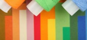 Как покрасить нитки