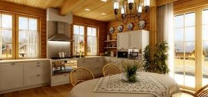 Как отделить кухню от столовой