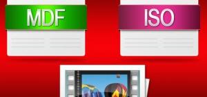 Как переименовать файл mdf в iso