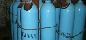 Как открыть контейнер с газовыми баллонами