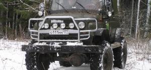 Как сделать высокий кузов на УАЗ