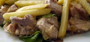 Как приготовить картошку с куриным филе