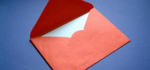 Как написать письмо