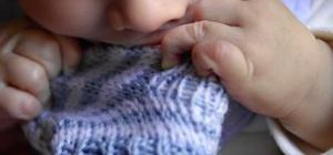 Как вязать детские носки