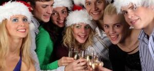 Как вести себя на новогоднем вечере
