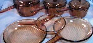 Как мыть стеклянную посуду
