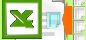 Как в Excel данные нескольких листов перенести в один