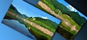Как в Фотошопе соединить две фотки