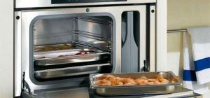 Как отмыть духовку  от жира