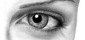 Как нарисовать глаза человека карандашом