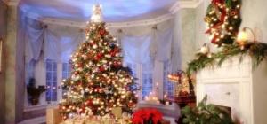 Как нарядить комнату к Новому году