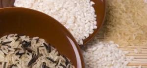 Как варить рис на воде