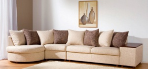 Как почистить диван из флока