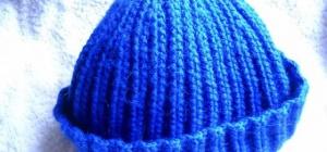 Как вязать шапку вкруговую