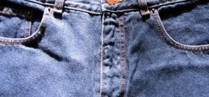 Как быстро высушить джинсы
