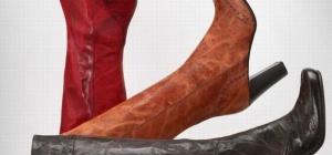 Как носить сапоги на высоком каблуке