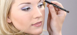 Как накрасить быстро глаза