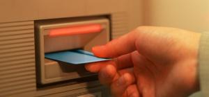 Как оплатить электроэнергию через банкомат