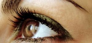Как можно красиво накрасить глаза