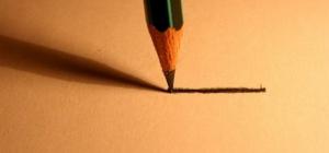 Как отстирать карандаш