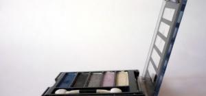 Как накрасить черными тенями