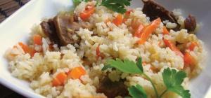 Как приготовить овощной плов с грибами