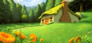 Как нарисовать дом для мамы