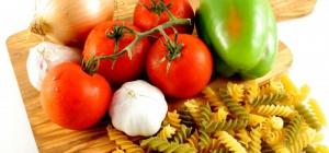 Как приготовить пасту с семгой и томатами