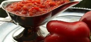 Как приготовить аджику из помидор