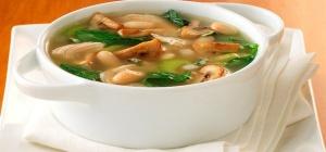 Как варить суп из шампиньонов