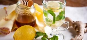 Простой рецепт имбирного чая