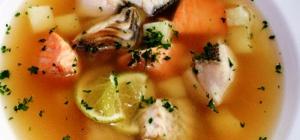 Французский рыбный суп