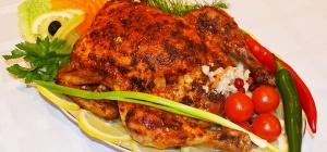 Как украсить курицу
