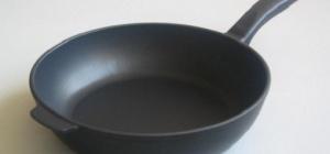 Как очистить ржавчину от чугунной сковороды