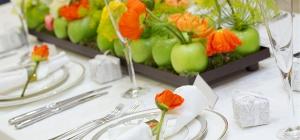 Топ-10 фруктовых идей для оформления стола