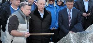 Как Путин следил за подготовкой к Играм-2014 в Сочи