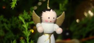 Как сделать рождественского ангела из бумаги