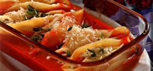 Как приготовить макароны в виде больших ракушек