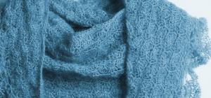 С чем носить шаль