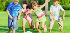 Детские конкурсы на природе