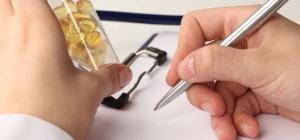 Как составить график приема таблеток