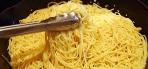 Как приготовить спагетти правильно