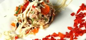 Как приготовить салат «купеческий»